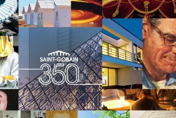 Saint-Gobain celebra seu 350 aniversário